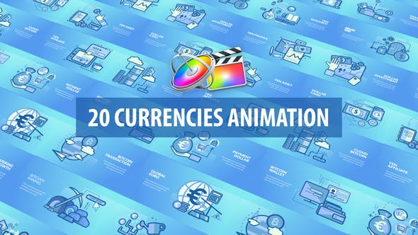 Currencies Animation | Apple Motion & FCPX