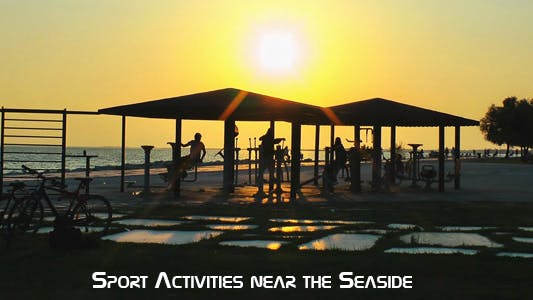 Thumbnail for Sport Activities Near The Seaside 3