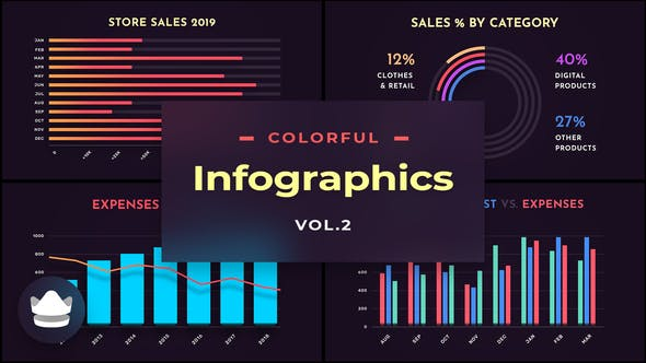 Colorful Infographics Vol.1