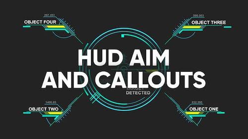 HUD aim and callouts