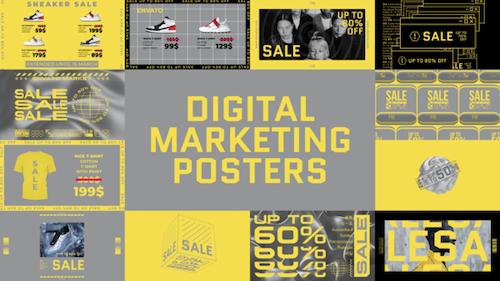 Digital Marketing Posters