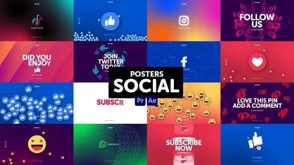 Posters Social Media