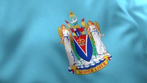 Victoria City Flag (Canada)