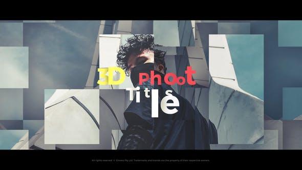3D-Titel - Fototitel