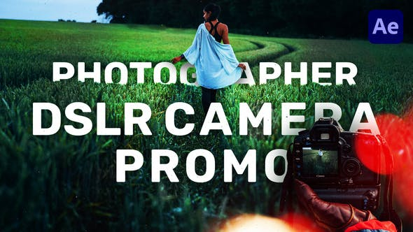 Photographer DSLR Camera Promo