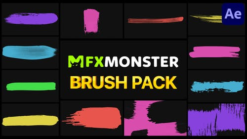 Brush Pack | After Effects