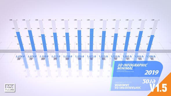 Infographics 3D Minimal
