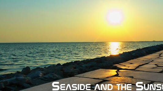 Seaside And The Sunset