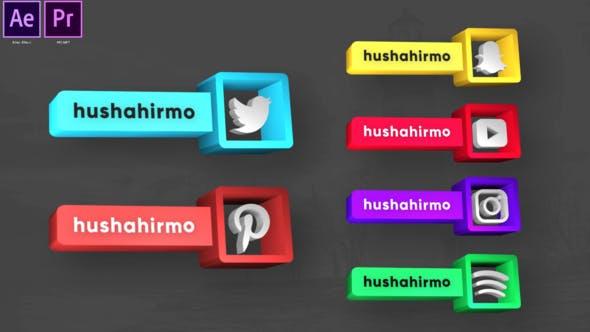 Social Media Exclusiva de las terceras partes inferiores