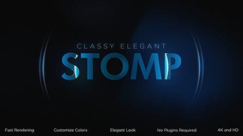 Classy Elegant Stomp Intro