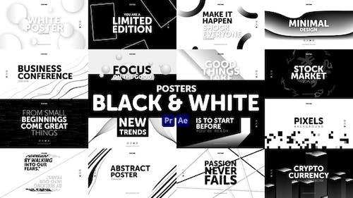 Posters Black & White