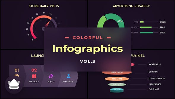 Colorful Infographics Vol.3