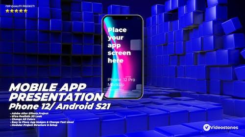 Mobile App Presentation - App Promo Kit - Phone 12 App Demo - App Demonstration Video  - Android