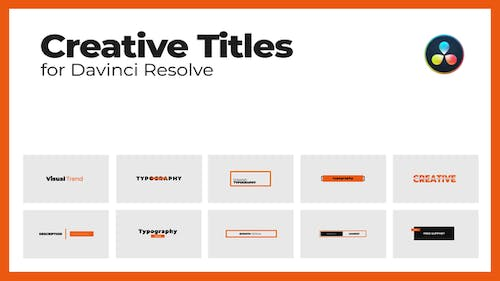 Creative Titles Pack