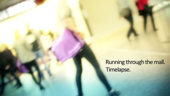 Thumbnail for In The Mall Time Lapse