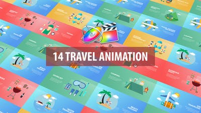 Travel Animation | Apple Motion & FCPX