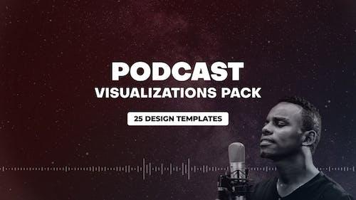 Podcast Audio Visualization Pack