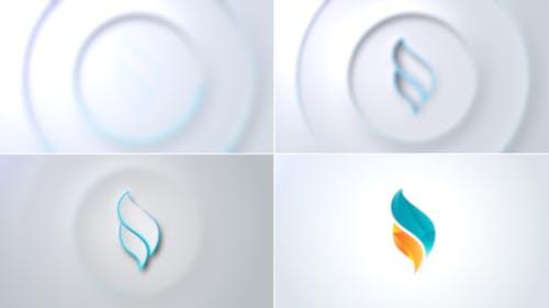 Sleek Clean Logo Reveal