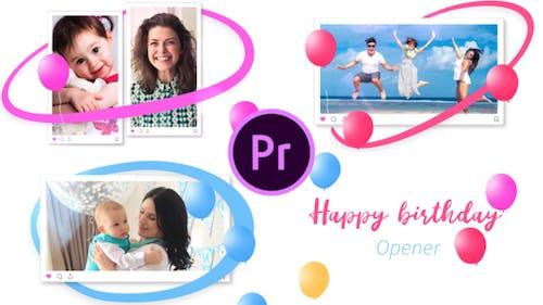 Happy Birthday Opener