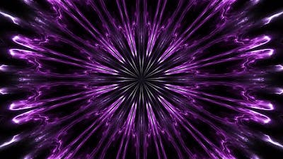 Abstract Purple Kaleido