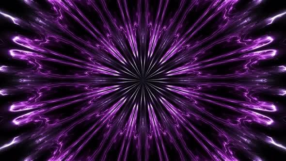 Abstract Purple Kaleido