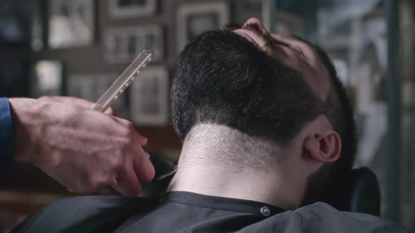 Cover Image for Shaving at Barbershop