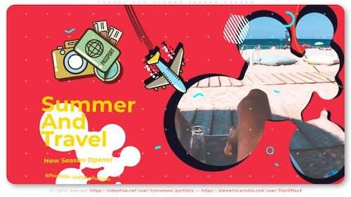 Travel And Summer Season Opener
