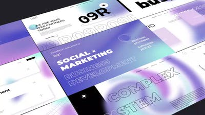 Gradient Typography Pack