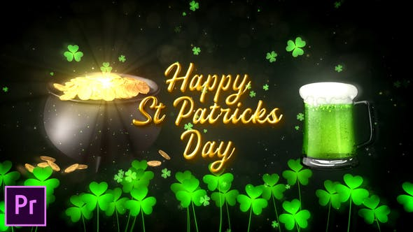 St. Patrick's Day Wishes - Premiere Pro