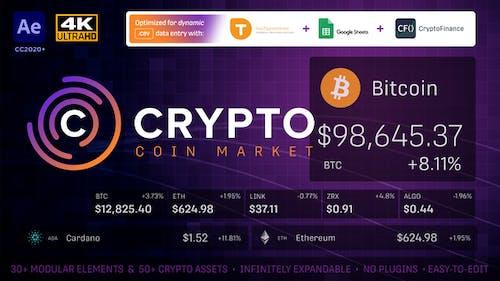 Crypto Currency Coin Market Kit   Bitcoin Tracker