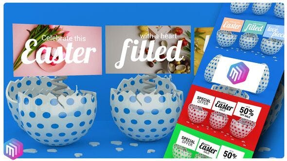 Happy Easter Promo / Greeting Card