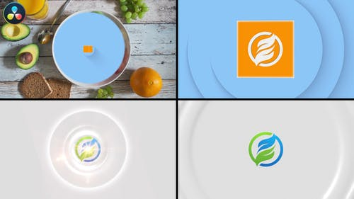 Rotating Box Logo Reveal
