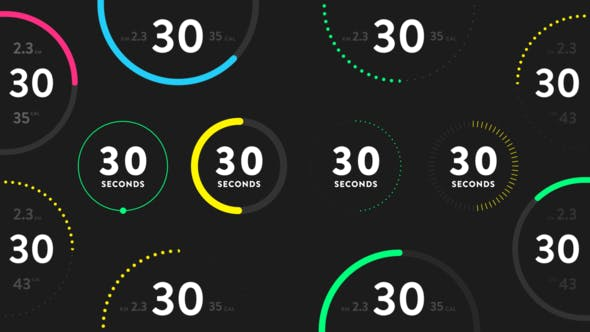 Countdown Timers for Fitness