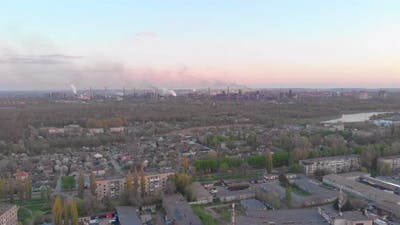 Air Emissions Industrial City
