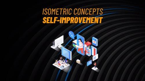 Self-Improvement - Isometric Concept