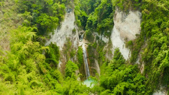 Thumbnail for Beautiful Tropical Waterfall Philippines, Cebu