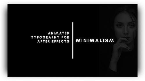 Minimalism - Animated Titles