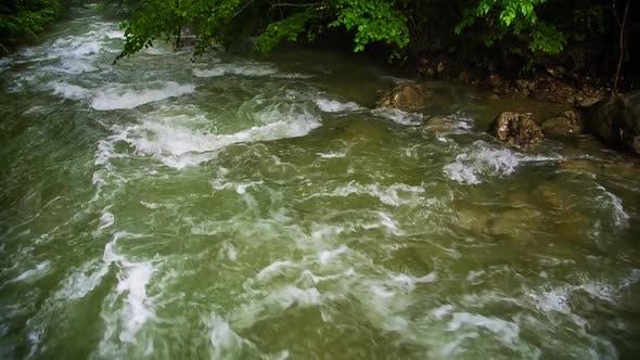 Mountainous High River Flow