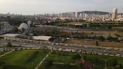 Aerial View Centrel Park
