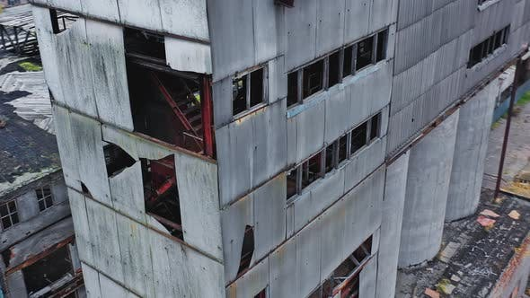 Ruined Abandoned Factory