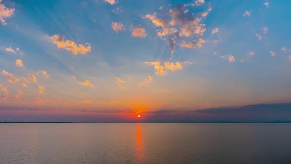 Thumbnail for Timelapse of Sea Sunset