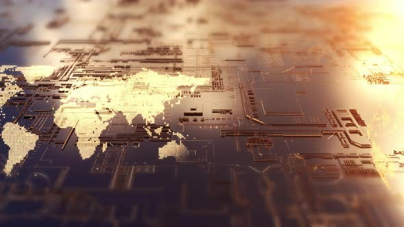 Thumbnail for AI Board Electronic Circuit 4K