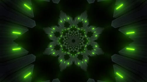 4k Colored Kaleidoscope Backgrounds Pack