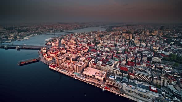 Thumbnail for Karakoy District, Istanbul, Turkey