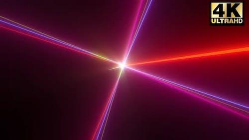 Laser-Strobe-Strahl