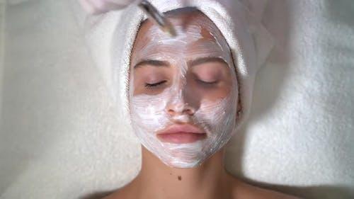 Girl on Facial Treatments