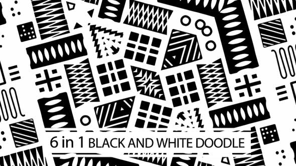 Thumbnail for Black And White Doodle Vol.02