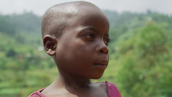 Thumbnail for Close up of an African child
