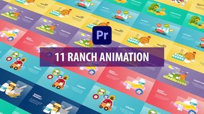 Ranch Animation | Premiere Pro MOGRT