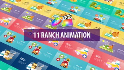 Ranch Animation | Apple Motion & FCPX
